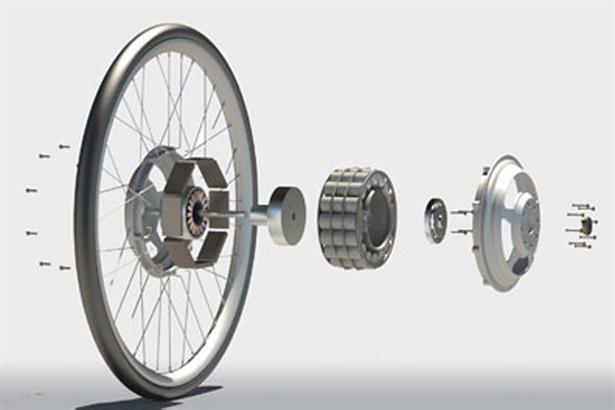 Мотор колесо своими руками чертеж